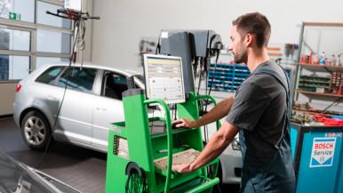 Bosch benzinbefecskendezés járműtechnikus